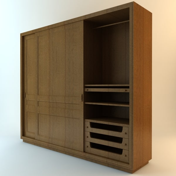 cabinet door 3d model