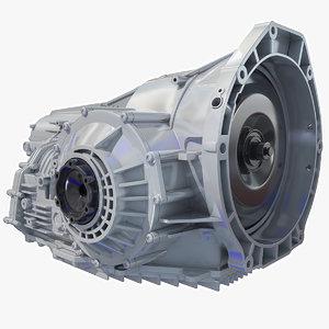 3d cayman boxster transmission model