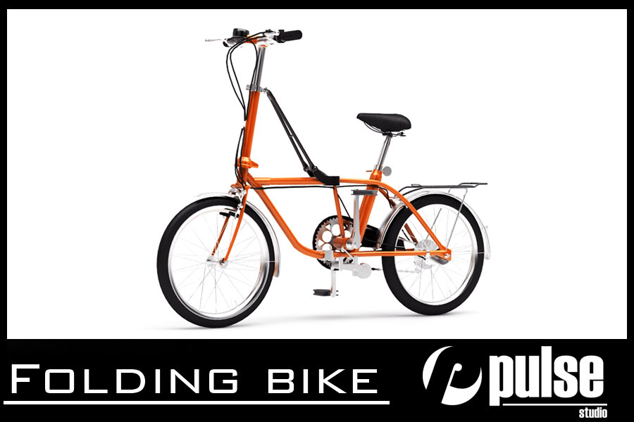 max folding bike