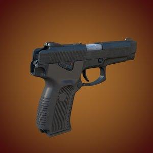 3dsmax mp-443 grach yarygin pistol