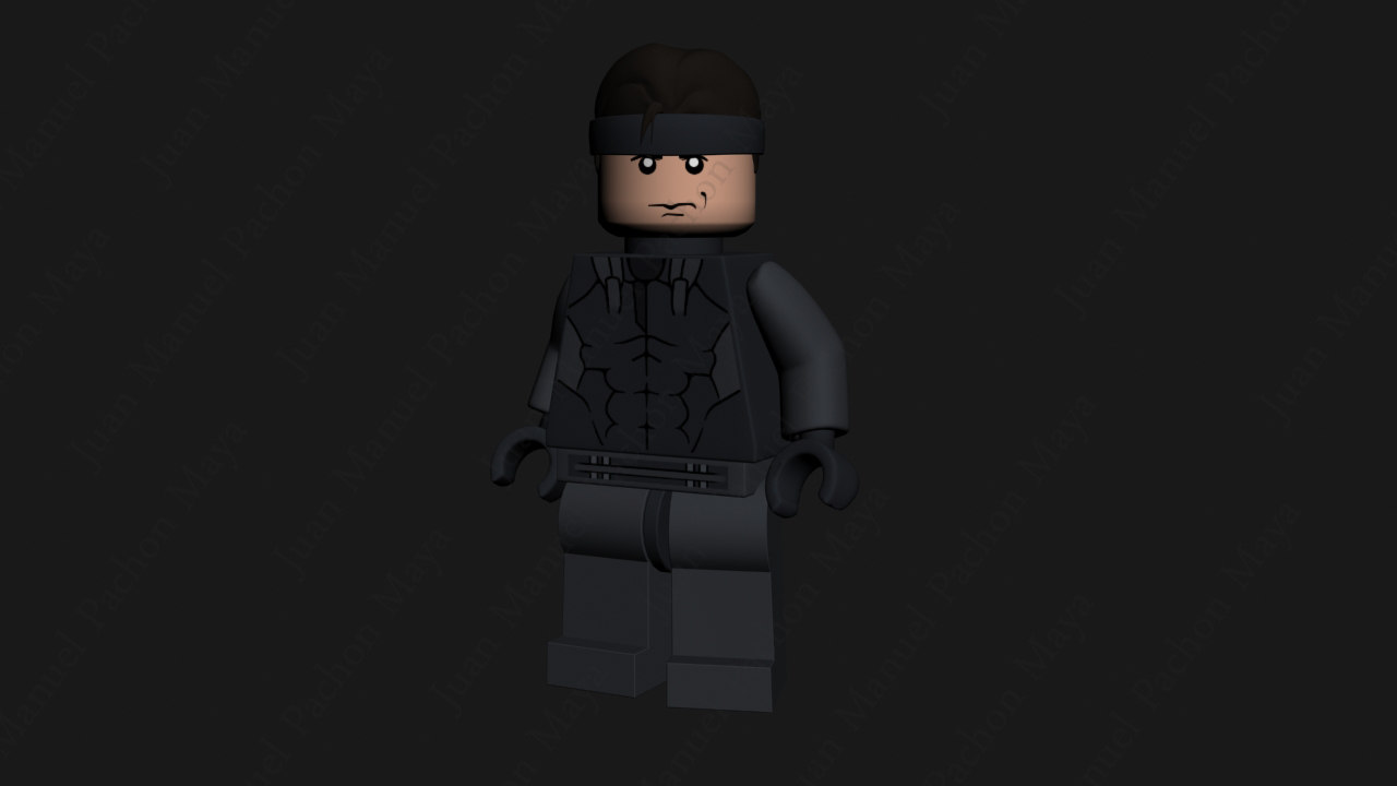 lego character 3ds