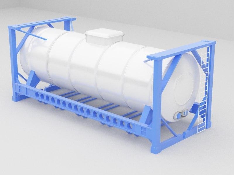 tank fuel 3d max