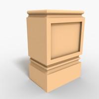 Plinth Block 004