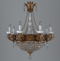 3d model chandelier antique