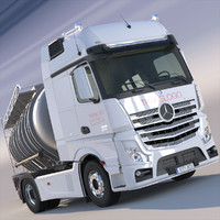 obj mercedes actros mp4 gigaspace