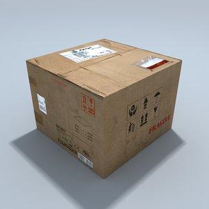 cardboard box 3ds