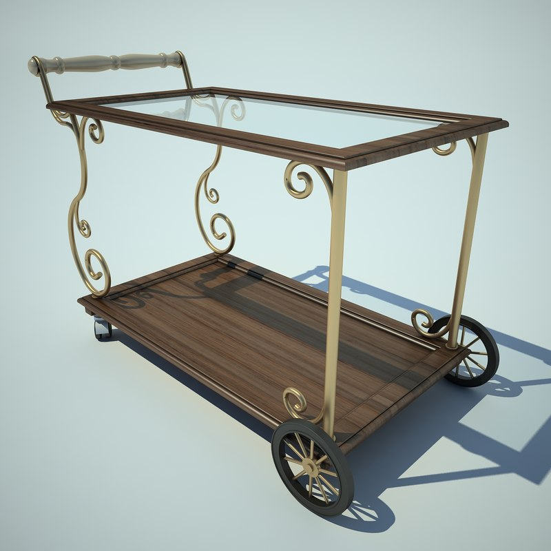 3d cart food car