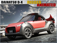 daihatsu d-x concept 3d 3ds