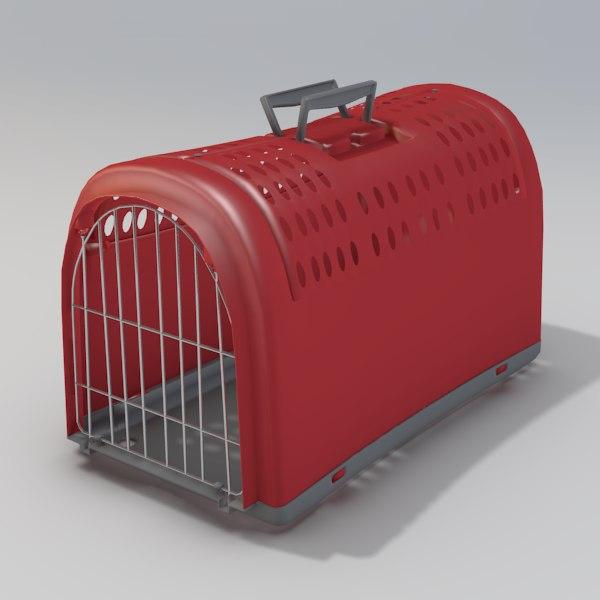 3ds max plastic pet carrier