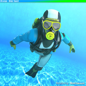 diver dry suit max