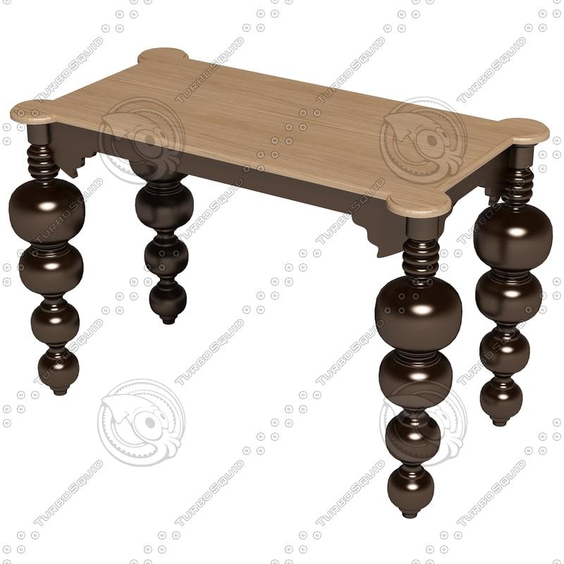 3ds max eichholtz table bar mayfair