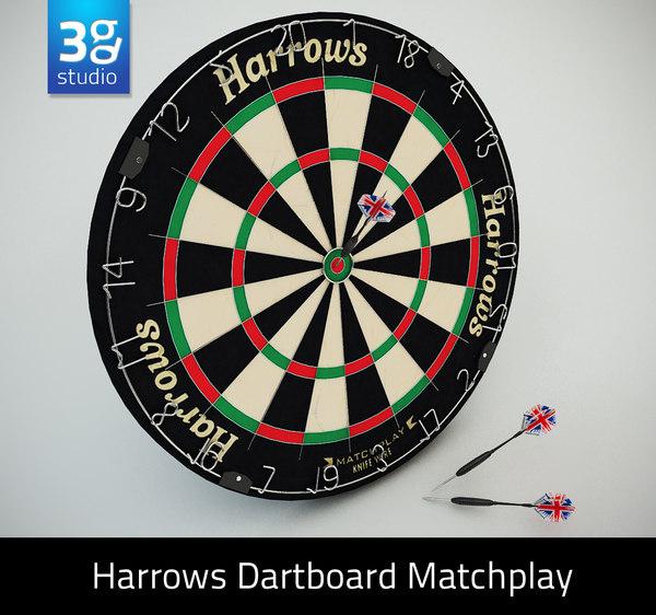max dartboard matchplay dart board