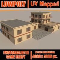 3d model of building s