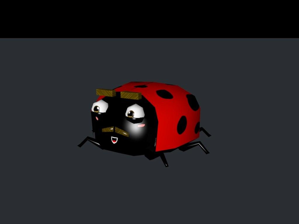 c4d ladybug