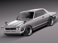 Nissan Skyline 1968-1972