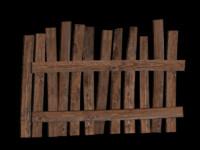 old fence obj free