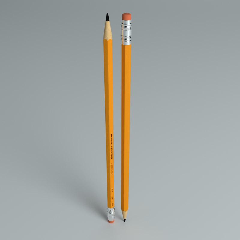 3d ma pencil 2