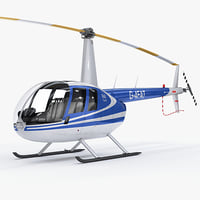 Helicopter Robinson R44 Raven II