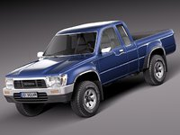 Toyota Hilux Pickup Extended cab 1989-1997