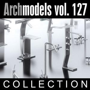 3d max archmodels vol 127 bathroom