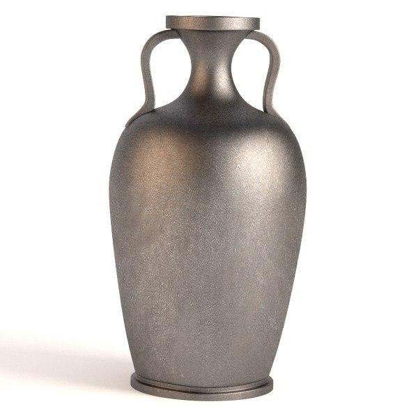 antique vase obj