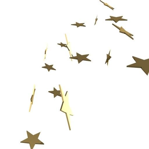 3d falling stars loader