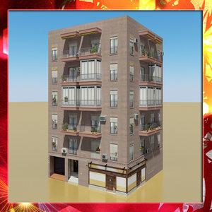 3d photorealistic building 9