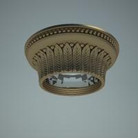 3d built-in lamp model