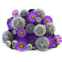 Lying bouquet