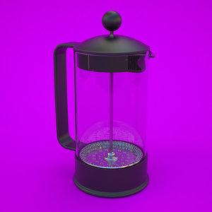 3d press model