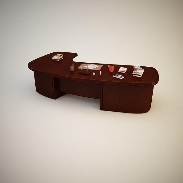 desk 3d c4d
