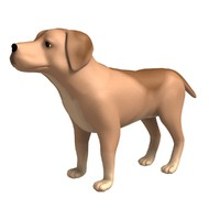3ds max dog