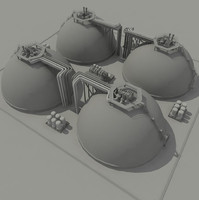 gas storage tanks 3ds