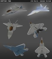 F22 Raptor lowpoly