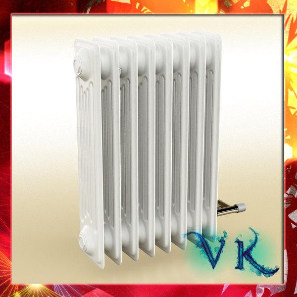 3d radiator scanline
