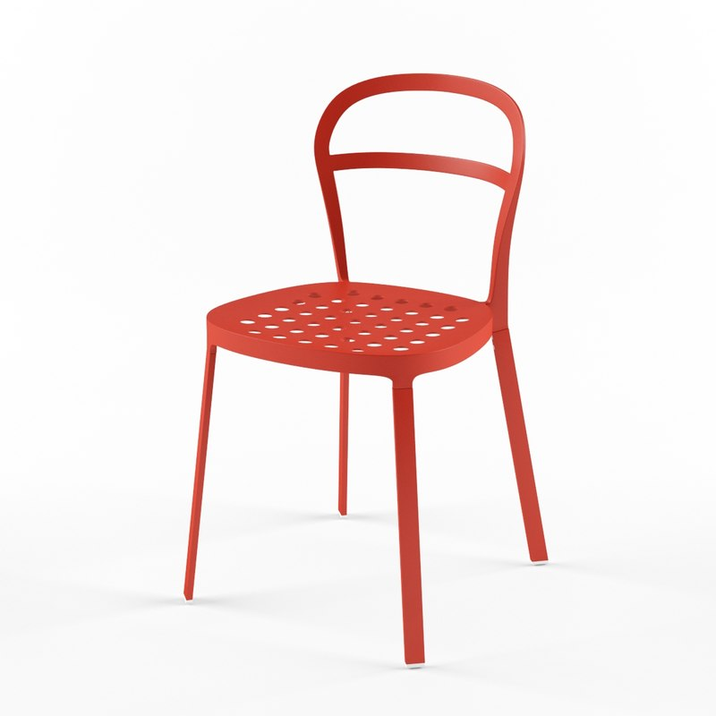 3ds max ikea reidar chair