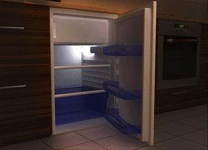 3d refrigerator 1 model