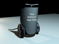 3d model segway marketing