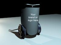 3d model segway marketing