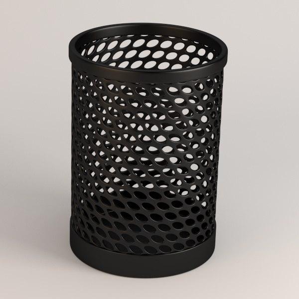 pencil cup 3d