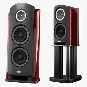 tad cr1 speaker r1 3d model