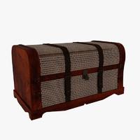3d model chest