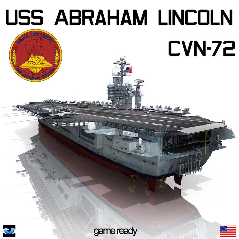 uss abraham cvn-72 cvn 3d lwo
