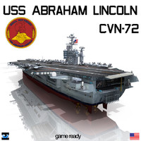 uss abraham cvn-72 cvn 3d lwo