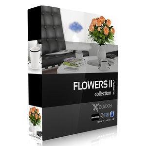 c4d flower