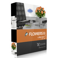 volume 26 flowers 3d max