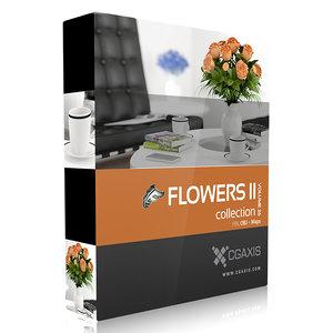 volume 26 flowers 3d max