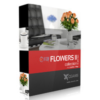 volume 26 flowers ii 3d max