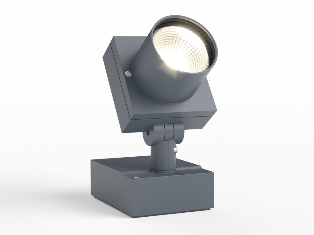 3ds max erco outdoor grasshopper projector