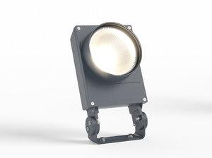 3d erco outdoor powercast projector model